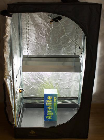armario pequeño de marihuana