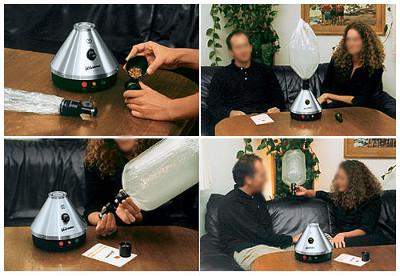 vaporizar marihuana volcano