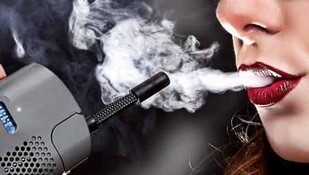 vaporizando weed