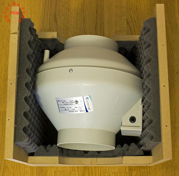 extractor rvk en caja insonorizadora