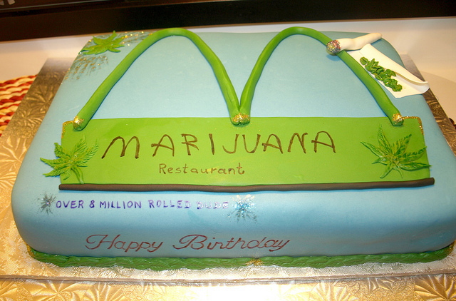 mantequilal de cannabis bizcocho