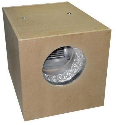 caja insonorizadora extractor
