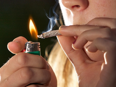 que se siente fumar marihuana