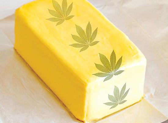 mantequilla de marihuana