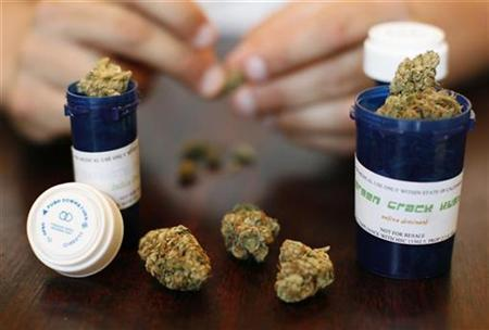 marihuana medicinal en bote