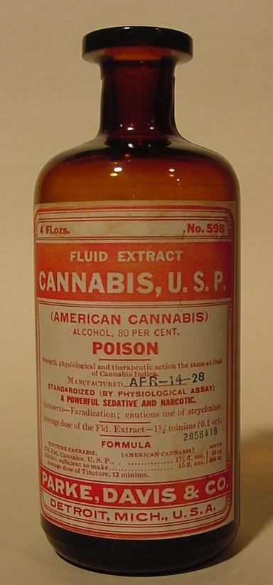 tintura de marihuana medicinal
